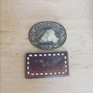 Vintage Belt buckle | AE | 2